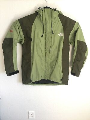 499fb08c0 THE NORTH FACE Summit Series Gore-Tex XCR Womens Med Jacket Shell Hooded  Green