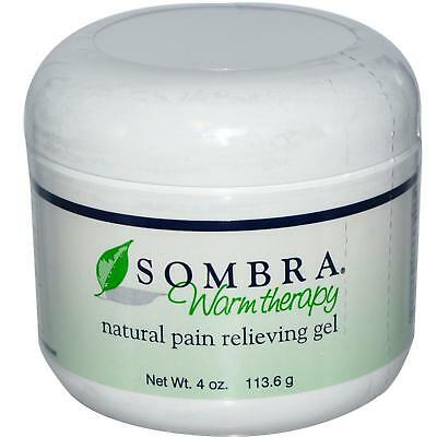 NEW 4 OZ Jar of Sombra Warm Therapy Pain Relieving Gel Fast FREE Shipping