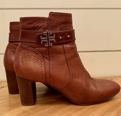8a66deaf109a4e TORY BURCH LANDERS Ankle Boot NWOB Size 9M Black Boot Biker Boot ...