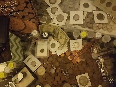 Estate Coins Mixed  Lot! Gold , Silver Bullion Bar,and More!