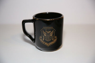 US Air Force Office of Special Investigations OSI IG Coffee Cup