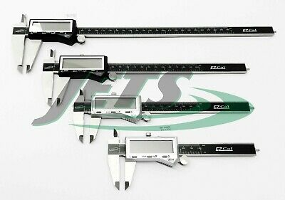 "4Pc iGaging Digital Caliper Set - 4"" 6"" 8"" 12"" Stainless Fractional 3 Way EZ Cal"