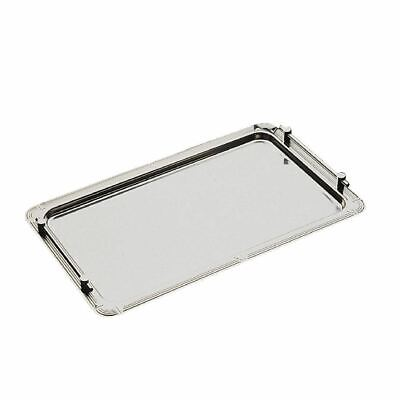 APS Stacking Buffet Tray Dishwasher Safe Made of Stainless Steel - 530x320mm