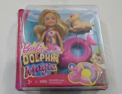 Barbie Little Sister Chelsea Dolphin Magic Doll Dog Puppy Color Change