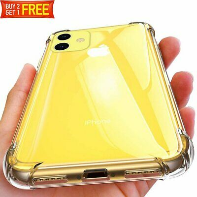 Phone Case For iPhone XR Clear Protective Hybrid Hard Slim Thin Fit Cover Shell