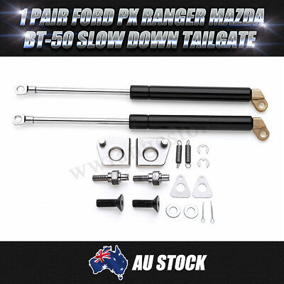 Rear Tailgate Gas Struts for Ford PX Ranger for Mazda BT-50 Slow Down new 1 Pair