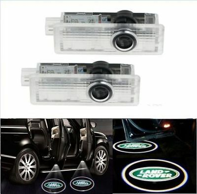 2pcs CREE LED Door For Land Range Rover Projector Puddle Shadow Laser Light Logo