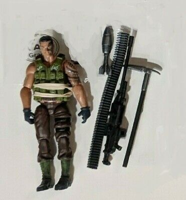 G.I.JOE LOT - Major Bludd (2000) + other type? Action Figure & Misc Parts {D2)