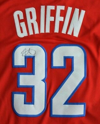 brand new bb066 cfebc BLAKE GRIFFIN AUTOGRAPHED Signed Jersey COA Detroit Pistons Clippers NWT NBA