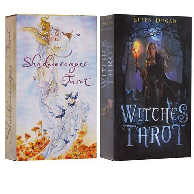 Witches Tarot Deck Сard English Version 78Card Future Fate Indicator Forecast XX