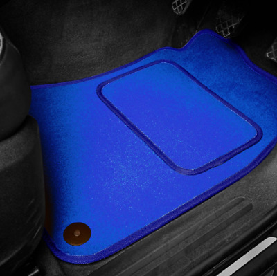 Bleu Super Velours Tapis de Sol Voiture Set pour Volkswagen Arteon (2017 On )