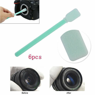6x Sensor Lens Cleaning Kit Tools Cleaner Swab For Camera Nikon Canon DSLR SLR