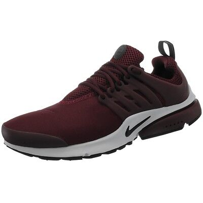 new product 34d30 e8483 Nike Air Presto Essential rot Herren Low-Top Trend Sneakers Laufschuhe  Gr.47,