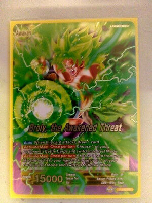 Dragon Ball Super Card Game Broly, the Awakened Threat P-092 Promo Card Bandai