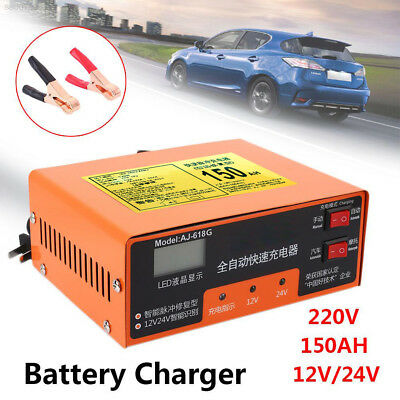 A47F Car Battery Charger Automatic Accessories Intelligent Electric