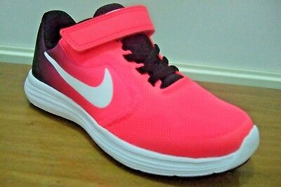 c4695f3997c5 Nike Revolution 3 Psv Girls Slip On Shoes Trainers Uk Size 10.5 - 2.5  819417 002