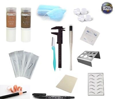 Microblading Starter Kit, Pigments, Microblading tool, Ink pots + MUCH MORE. PMU