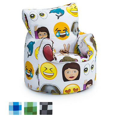 Toddler Size Character Bean Bag Chair Seat With Beans Beanbag