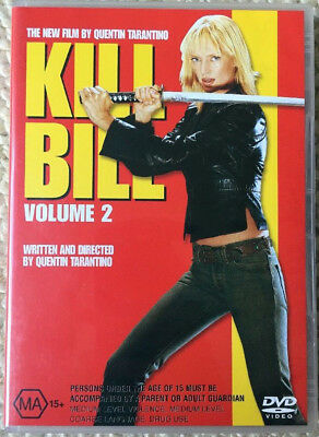 Kill Bill : Vol 2 (DVD, 2004)   Region  2 / 4 PAL