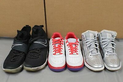 976af44b5a3 Nike Jordan Lebron Shoe Lot 3 Pairs Multiple Sizes Pre-Owned Beaters
