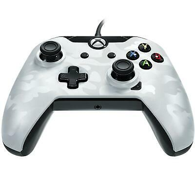 PDP Deluxe Wired Controller White Camo for Xbox One