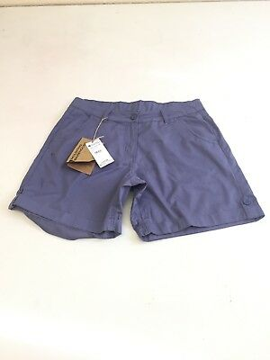 be8d332d13d1b B768 Mountain Warehouse Women's Purple Shorts Size 12 New With Defects