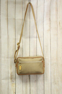 48d26645d1 BORSA SHOULDER BAG -BORBONESE- gold leather pelle zip tracolla MADE IN ITALY