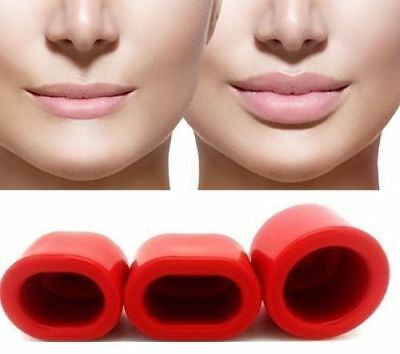 Natural Lip Plumper Enhancer Fuller Pout Lip Suction Device 3 Sizes