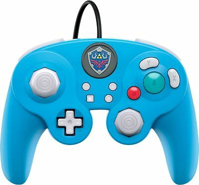 PDP - Wired Fight Pad Pro Link Edition Controller for Nintendo Switch - Blue