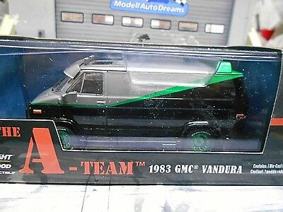 GMC B.A. Van A-Team Movie Vandura 1983 TV Serie Filmauto A grwhe Greenlight 1:43