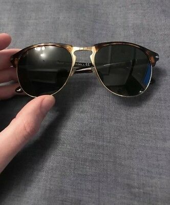a1d5e6a608602 Persol 8649S 649 Men s Sunglasses 24 31 Havana Dark Green Lenses