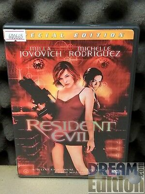 Resident Evil: Special Edition [Milla Jovovich] (2002) Action Sci-Fi Horror [DEd