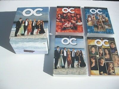 The O.C. The Complete Series Collection (DVD, 2013, 26-Disc Set) Seasons 1-4 VG