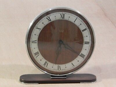 Antique Art Deco Smith SecTric Slimline Mantle Clock