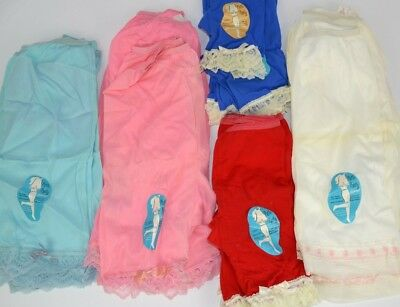 Vintage 1970's Sylcraft Lot of 21 Girls Petti-Panty Petticoats w/ Lace ASSORTED