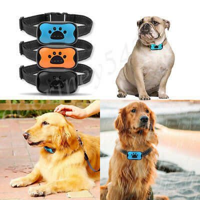 No Barking Collar Anti-Bark Training Collar Waterproof For All Pet Dog Puppy US