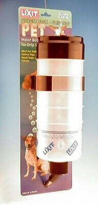 Lixit Quick Lock Flip Top Water Bottle for Dogs and Small Animals 32 ounces