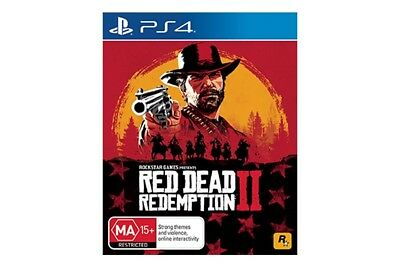 Red Dead Redemption 2  - PS4 Play Station 4 Game Brand New in Stock