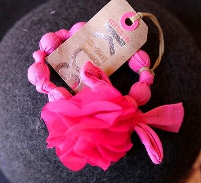 Cotton On Kids Toddlers Girls Pink Bracelet with Floral Flower *Brand New*