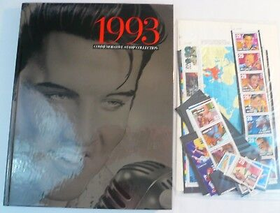 Sealed 1993 Commemorative USPS Yearbook Souvenir Mint Stamp Set w Stamps Elvis
