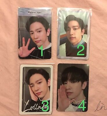 [GOT7]3rd Album Present:You Official Photocard/Lullaby/Jinyoung