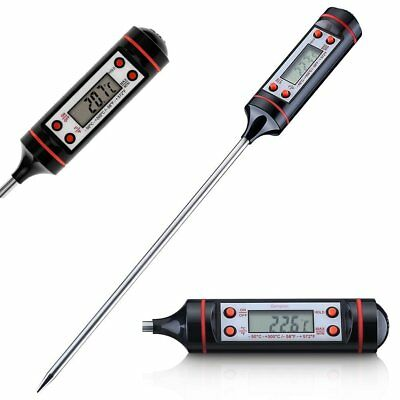 Instant Read Digital Electronic Kitchen Cooking BBQ Grill Food Meat Thermometer