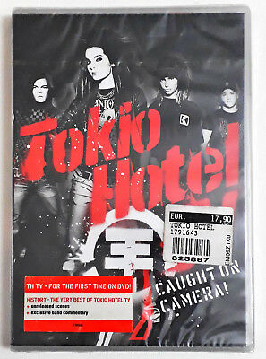 Tokio Hotel ‎– Tokio Hotel Tv: Caught On Camera! DVD SIGILLATO SEALED