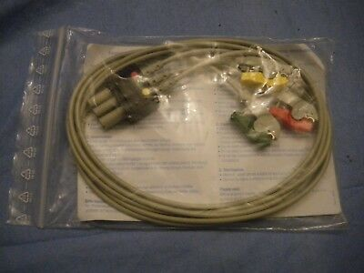 ARBO Patient 3 lead Cable ECG Cable VS trunk 90cm N881/3G 3380.0654.06 tyco