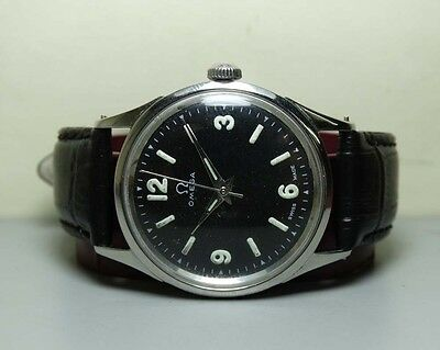 Vintage Omega Seamaster Automatic 351 Bumper Swiss Mens Wrist Watch H249 Antique
