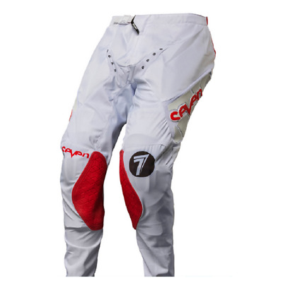 Seven MX 17.1 Zero Blade Motocross Pants White/Red