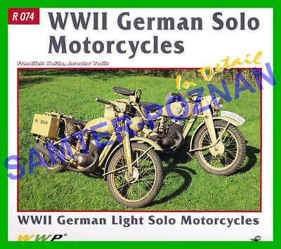 DKW RT125 NZ350 Zundapp K350 BMW R12 R61 (1939-1945) in detail - photo album