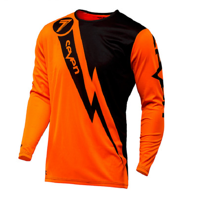 Seven MX 17.1 Annex Volt Motocross Jersey Flo Orange