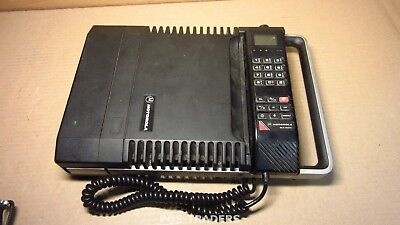 MOTOROLA MCR 4800XL carry phone analogue light up vintage mobile phone EXCL PSU