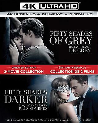 Fifty Shades of Grey / Fifty Shades Darker 2-Movie Collection (4K Ultra Blu-ray)